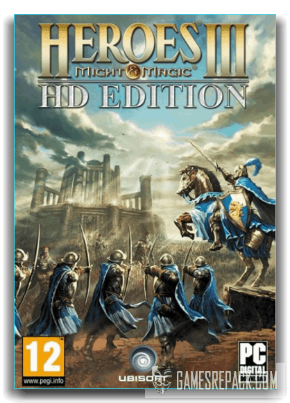 Heroes® of Might & Magic® III – HD Edition (Ubisoft Entertainment) (RUS|RUS) [Repack] от xatab