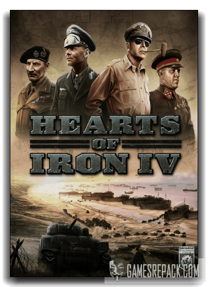 Hearts of Iron IV: Field Marshal Edition ( Paradox Interactive) (RUS|ENG|MULTi7) [Repack] от xatab
