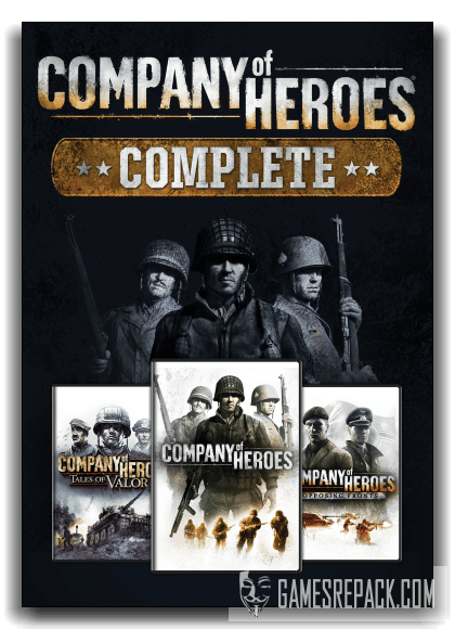 Company of Heroes - Complete Edition (SEGA) (RUS\ENG) [ Repack] от xatab