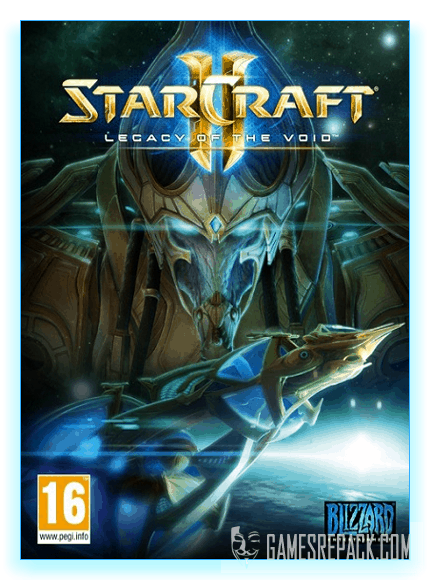 StarCraft 2: Legacy of the Void (Blizzard Entertainment) (RUS|ENG) [Repack] от xatab