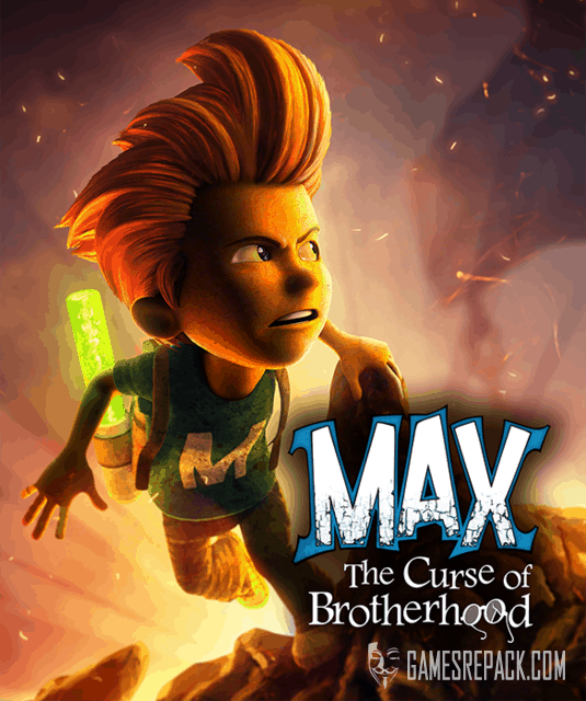 Max: The Curse of Brotherhood (Microsoft Game Studios) (RUS|ENG) [RePack] от xatab