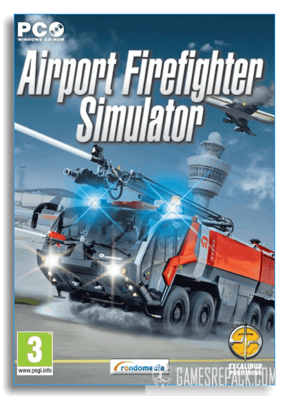 Airport Firefighters: The Simulation (rondomedia GmbH) (RUS|ENG|Multi7) [Repack] от xatab
