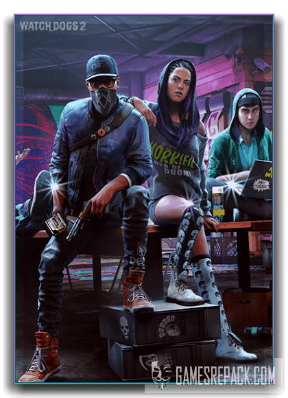 Watch Dogs 2 - Digital Deluxe Edition (Ubisoft) (RUS|ENG|MULTI) [RePack] от xatab