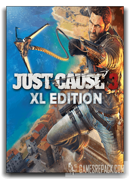 Just Cause 3 - XL Edition (Square Enix) (RUS|ENG) [RePack] от xatab