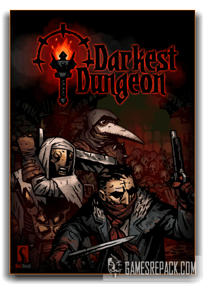 Darkest Dungeon + The Crimson Court DLC (Red Hook Studios) (RUS|ENG|Multi7) [RePack] от xatab
