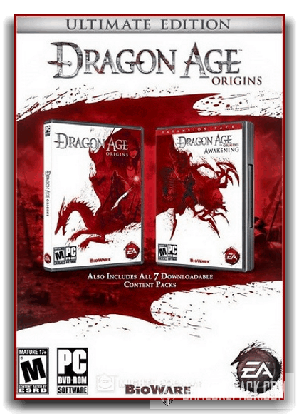 Dragon Age: Origins – Ultimate Edition (Electronic Arts) (RUS|ENG) [RePack] от xatab