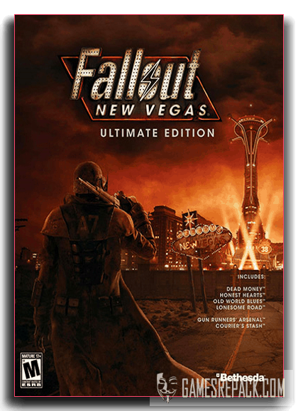 Fallout: New Vegas - Ultimate Edition (Bethesda Softworks) (RUS|ENG) [RePack] от xatab