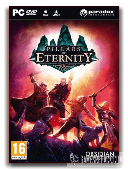 Pillars of Eternity: Definitive Edition (Paradox Interactive) (RUS|ENG|MULTI) [Repack] от xatab