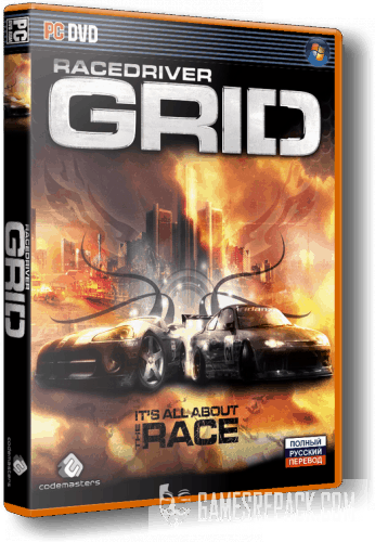 Race Driver: GRID ( High Research MOD+8Ball & Prestige DLC) (RUS|RUS) [Repack] от xatab