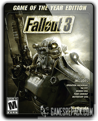 Fallout 3 Game of the Year Edition (2009) RePack от qoob