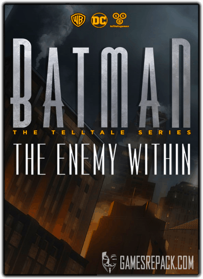 Batman: The Enemy Within - Episode 1-4 (Telltale Games) (RUS|ENG|MULTi9) [L]