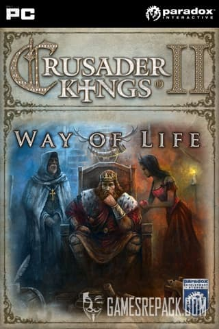 Crusader Kings 2 Way of Life + 49 DLC  (ENG/MULTI4) [Repack] by FitGirl