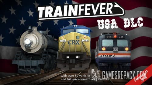 Train Fever + USA DLC (RUS/ENG/MULTI15) [Repack]