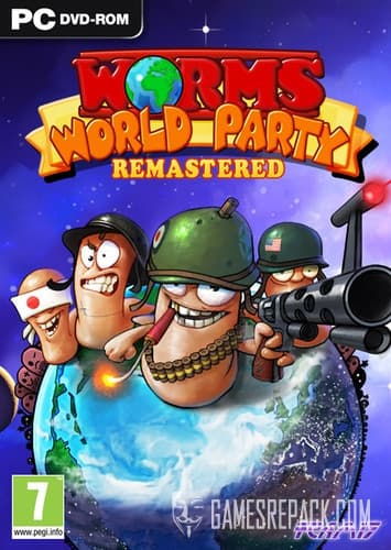 Worms World Party Remastered (Team17 Digital) (ENG/MULTI8) [Repack] by FitGirl