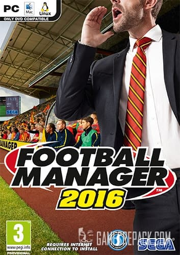 Football Manager 2016 (Sega) (RUS/ENG/MULTI16) [Repack] by FitGirl