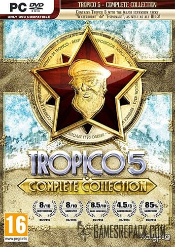 Tropico 5 Complete Collection (Kalypso Media) (RUS/ENG/MULTI8) [Repack] by FitGirl