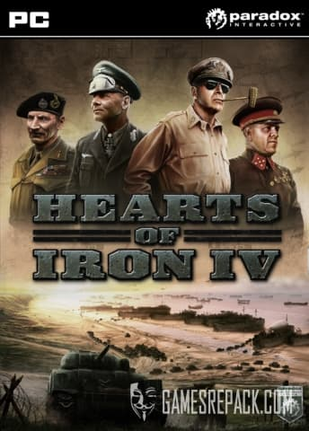 Hearts of Iron 4: Field Marshal Edition (Paradox) (RUS/ENG/MULTI7) [Repack] by FitGirl