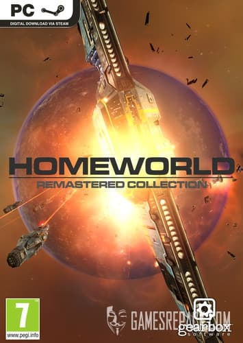 Homeworld Remastered Collection (Gearbox Software) (RUS/ENG/MULTI6) [Repack] by FitGirl