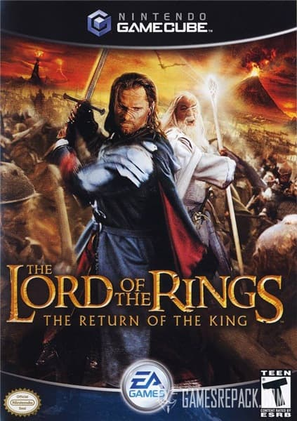 Lord Of The Rings: The Fellowship of the Ring (Vivendi Universal Games) (RUS) [L]