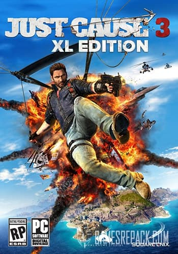 Just Cause 3 XL Edition (Square Enix) (RUS/ENG/MULTI10) [Repack] by FitGirl