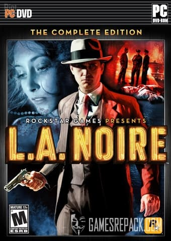 L.A. Noire: The Complete Edition (Rockstar Games) (RUS/ENG/MULTI6) [Repack] by FitGirl