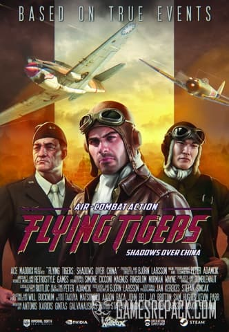 Flying Tigers: Shadows Over China (Ace Maddox) (RUS/ENG/MULTI13) [Repack] by FitGirl