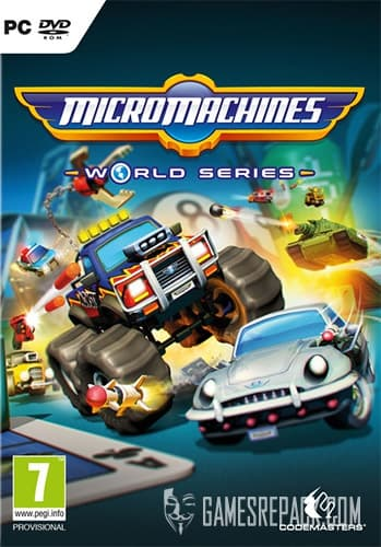 Micro Machines: World Series (Codemasters) (ENG/MULTI5) [Repack] by FitGirl