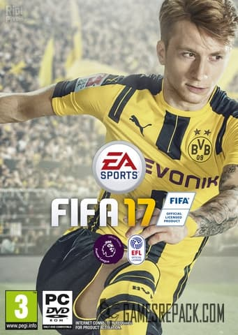 FIFA 17 (Electronic Arts) (RUS/ENG/MULTI18) [Repack] by FitGirl