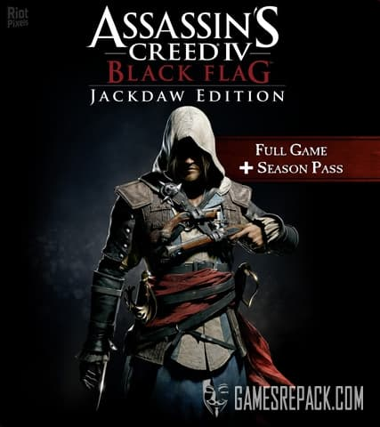 Assassin's Creed IV: Black Flag (Ubisoft) (RUS/ENG/MULTI15) [Repack] by FitGirl