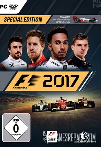 F1 2017 (Codemasters) (RUS/ENG) [Repack] by FitGirl