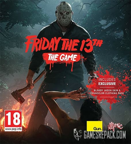 Friday the 13th: The Game (Gun Media) (RUS/ENG/MULTi7) [Repack] by FitGirl