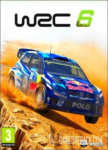 WRC 6 FIA World Rally Championship (Bigben Interactive) (ENG/MULTi6) [Repack] от R.G. Catalyst