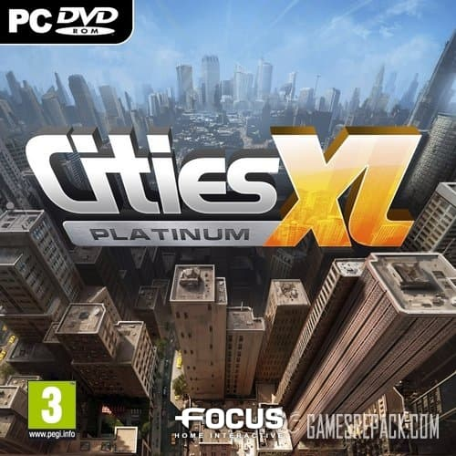 Cities XL Platinum (Focus Home Interactive) (RUS\ENG\Multi9) [Repack] от R.G. Catalyst