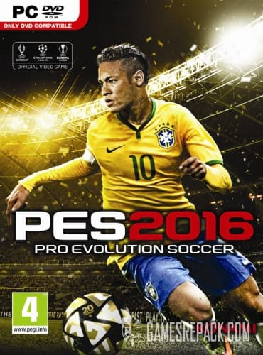 Pro Evolution Soccer 2016: UEFA Euro Edition (RUS/ENG) [Repack] от R.G. Catalyst