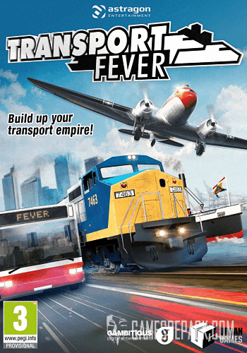 Transport Fever (Gambitious Digital Entertainment) (RUS/ENG/MULTi7) [Repack] от R.G. Catalyst