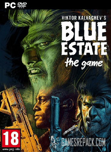 Viktor Kalvachev's - Blue Estate: The Game (HE SAW) (ENG/RUS|MULTi5) [Repack] от R.G. Catalyst
