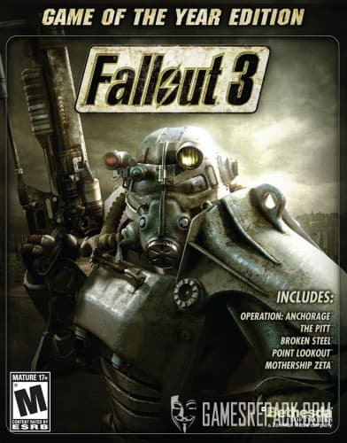 Fallout 3: Золотое Издание / Fallout 3: Game of The Year Edition (Bethesda Softworks\1С-СофтКлаб) (RUS\ENG) [Repack] от R.G. Catalyst
