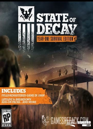 State of Decay: Year One Survival Edition (Microsoft Studios) (RUS/ENG/Multi8) [Repack] от R.G. Catalyst