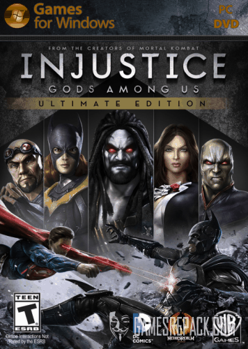 Injustice Gods Among Us Ultimate Edition (Warner Bros. Interactive Entertainment) (RUS\ENG\Multi9) [Repack] от R.G. Catalyst