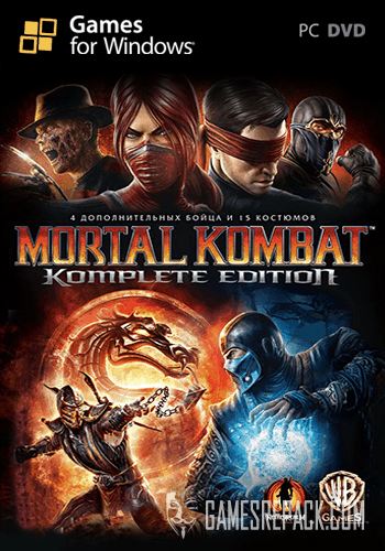 Mortal Kombat: Komplete Edition (Warner Bros. Interactive Entertainment) (RUS\ENG\MULTI5) [Repack] от R.G. Catalyst
