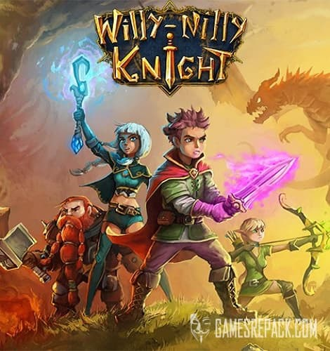 Willy-Nilly Knight (Double Dice Games) (RUS/ENG/MULTi4) [Repack] от R.G. Catalyst