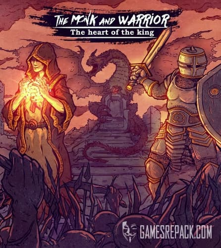 The Monk and the Warrior. The Heart of the King. (Paper Pirates) (RUS|ENG) [L]