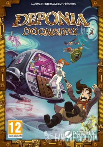 Deponia Doomsday (Daedalic Entertainment) (RUS/ENG/MULTI) [Repack] от R.G. Catalyst