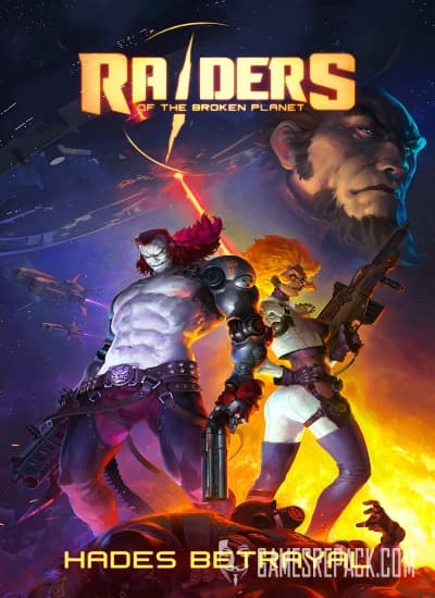 Raiders of the Broken Planet - Hades Betrayal Campaign (Mercury Steam Entertainment s.l.) (RUS|ENG|MULTi7) [L]