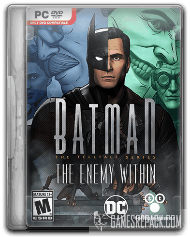 Batman: The Enemy Within - Episode 1-5 (2017) RePack от SpaceX