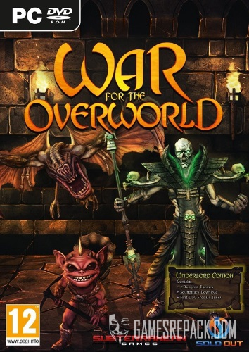 War for the Overworld - The Under Games Expansion (Brightrock Games) (RUS/ENG/MULTi9) [L]