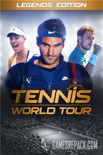 Tennis World Tour (Bigben Interactive) (RUS|ENG|MULTi12) [L]