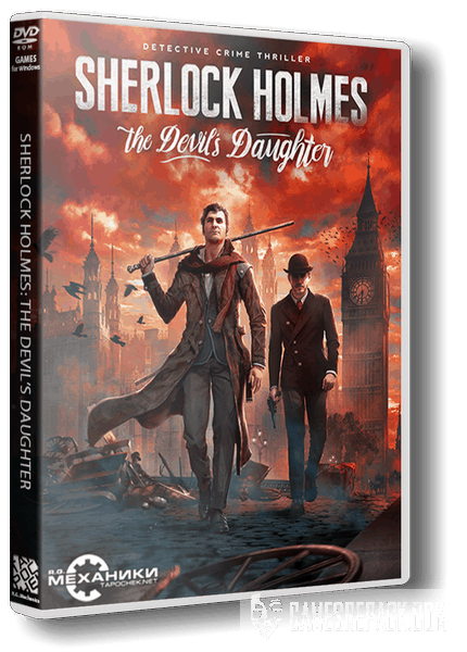 Sherlock Holmes: The Devil's Daughter (RUS|UKR|ENG) [RePack] от R.G. Механики