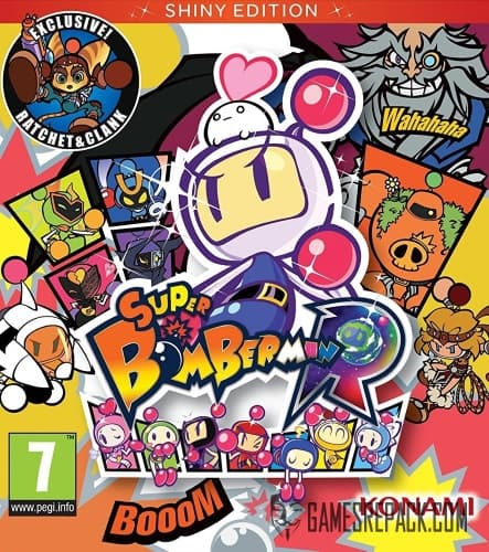 Super Bomberman R (Konami Digital Entertainment) (RUS/ENG/MULTi13) [L]