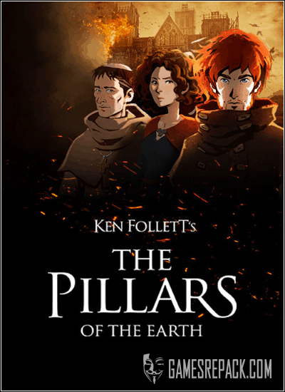 Ken Follett's The Pillars of the Earth - Book 1-2 (Daedalic Entertainment) (RUS|ENG|MULTi6) [GOG]